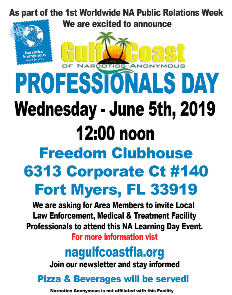 PR Professionals Day @ Freedom Clubhouse | Fort Myers | Florida | United States