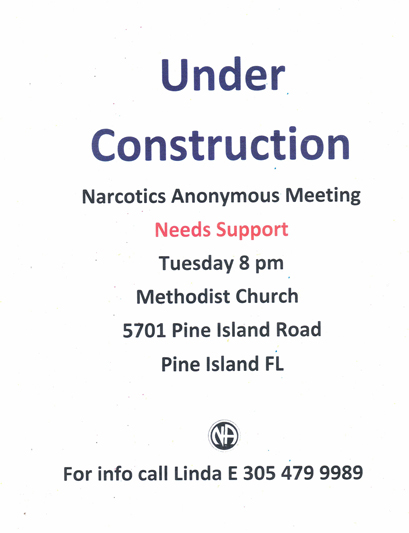 Under Construction @ United Methodist Church | Bokeelia | Florida | United States