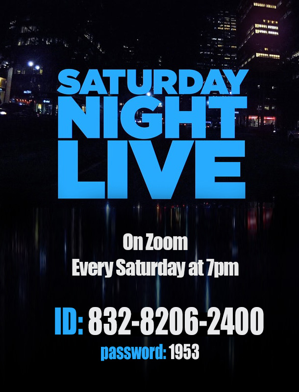 Saturday Night Live @ http://Zoom.us