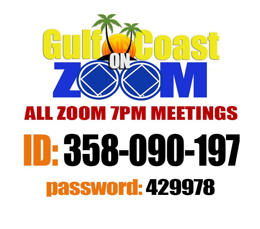 Gulf Coast Area - 7pm Daily Meeting! @ https://Zoom.us | Coffeyville | Kansas | United States