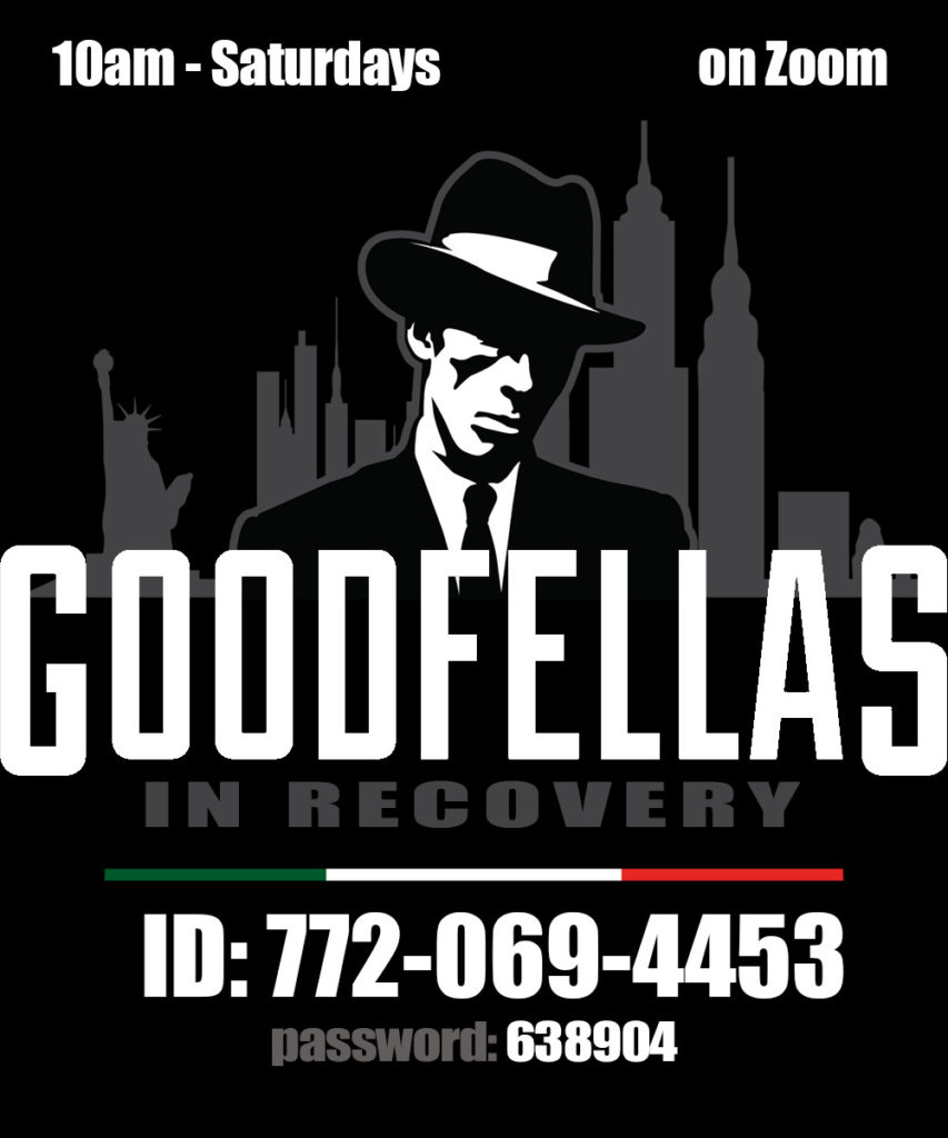 Goodfellas In Recovery @ Zoom