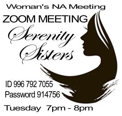 Serenity Sisters @ http://zoom.us